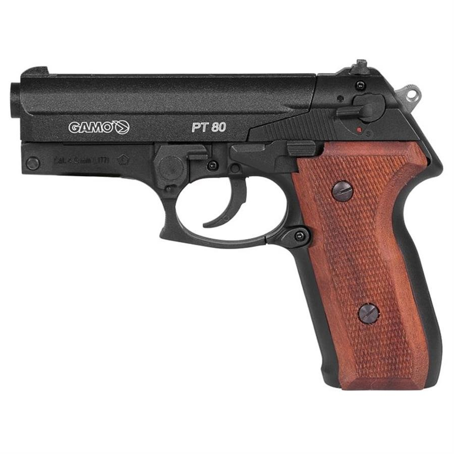 PISTOLA DE PRESSÃO CO2 GAMO PT-80 20TH ANNIVERSARY 4,5MM