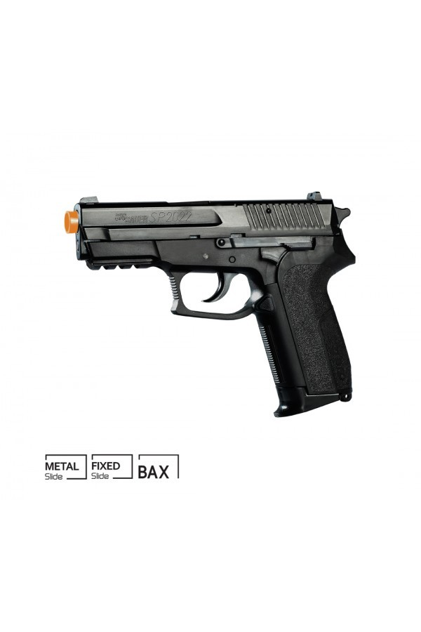 Pistola Airsoft SIG SAUER SP2022 CO2 METAL SLIDE 6mm Cyber Gun