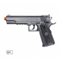 Pistola de Airsoft COLT 1911 MATCH CO2 SLIDE FIXO 6mm CYBER GUN