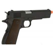 Pistola de Airsoft a Gás 1911 GI, GBB, Full Metal, Blowback WE