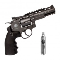 REVOLVER PRESSAO WINGUN METAL 701 4POL CO2 4,5MM