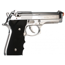 Tokyo Marui M9 Chrome Stainless Edition Gas Blowback Airsoft Pistol