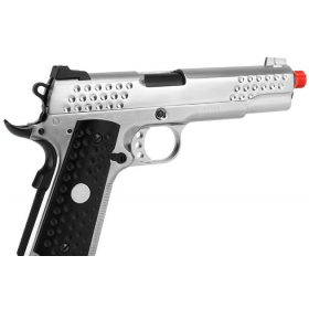 Pistola de Airsoft a Gás 1911 Knighthawk  , GBB, Full Metal, Blowback WE