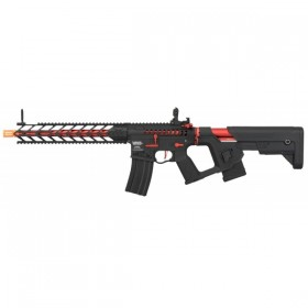 RIFLE DE AIRSOFT AEG M4A1 ENFORCER SKELETON RED FULL METAL + GATILHO ELETRÔNICO